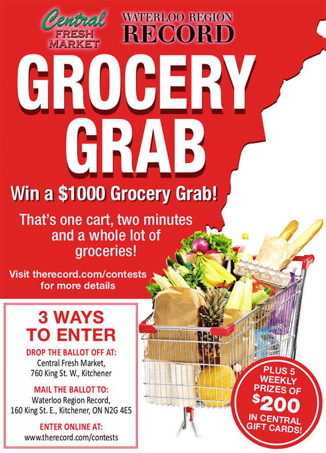 Win a $1000 Grocery Grab